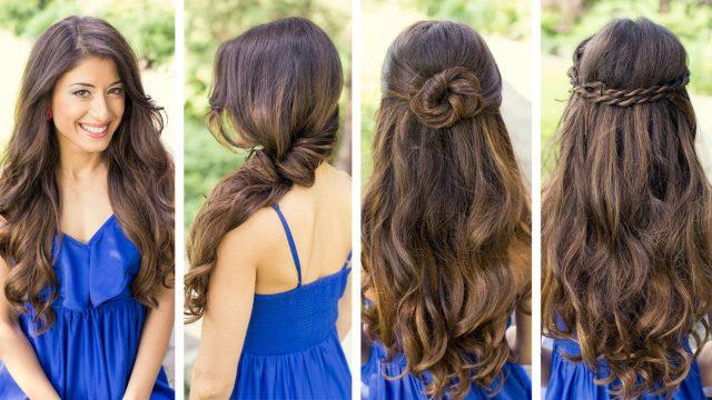 Повседневные прически на длинные волосы своими руками: 14 причесок