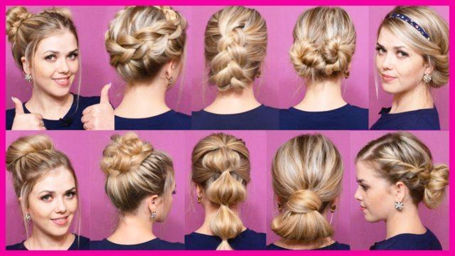 Прически на средние волосы на каждый день: будь всегда неотразимой!
