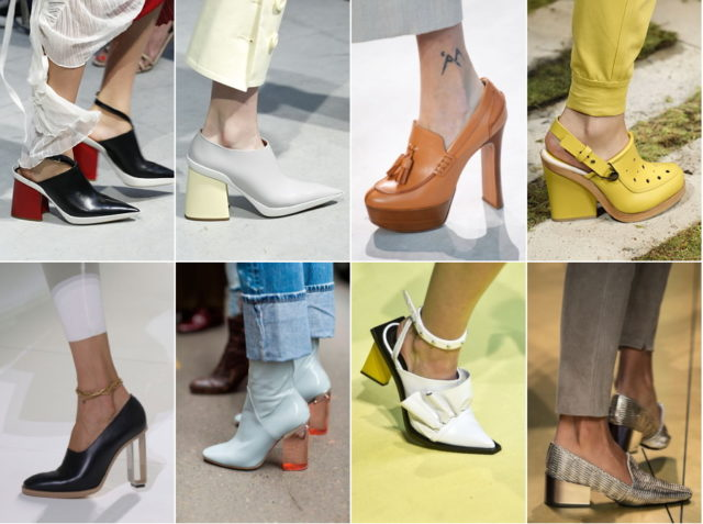 Мода на женские туфли в 2018...