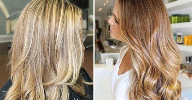 Колорирование волос: виды, отличие от мелирования и техника проведения