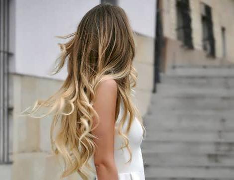 Модное мелирование волос 2018: фото