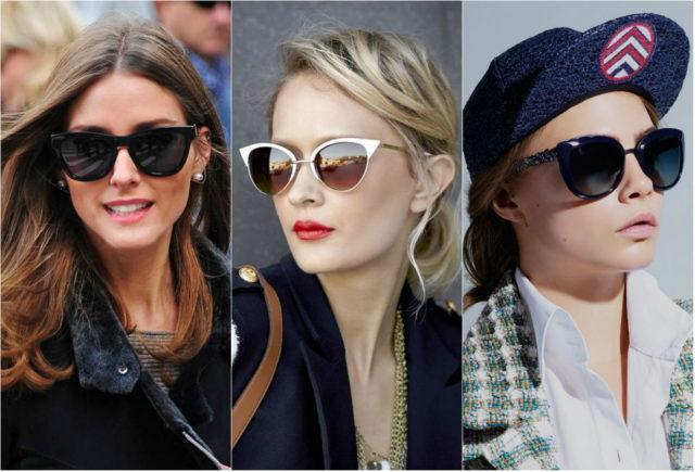 Модные солнцезащитные очки 2018-2019, фото, тренды, формы солнцезащитных очков