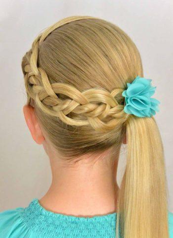Простые прически на каждый день за 5 минут на длинные волосы