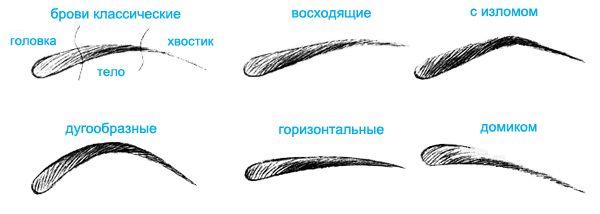 Как научиться рисовать брови? Чем обычно рисуют брови?