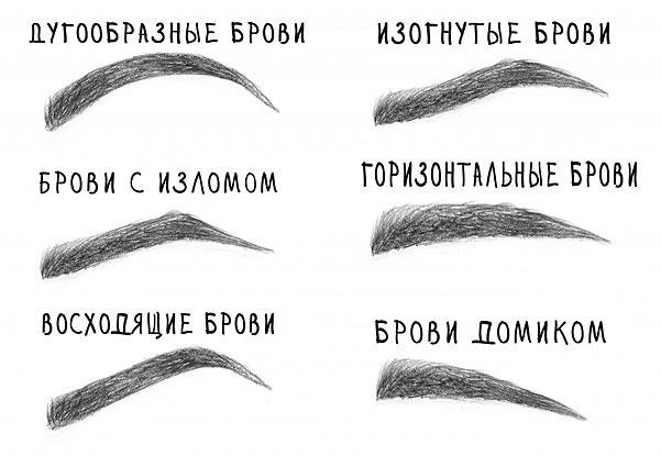 Как выщипать брови: фото