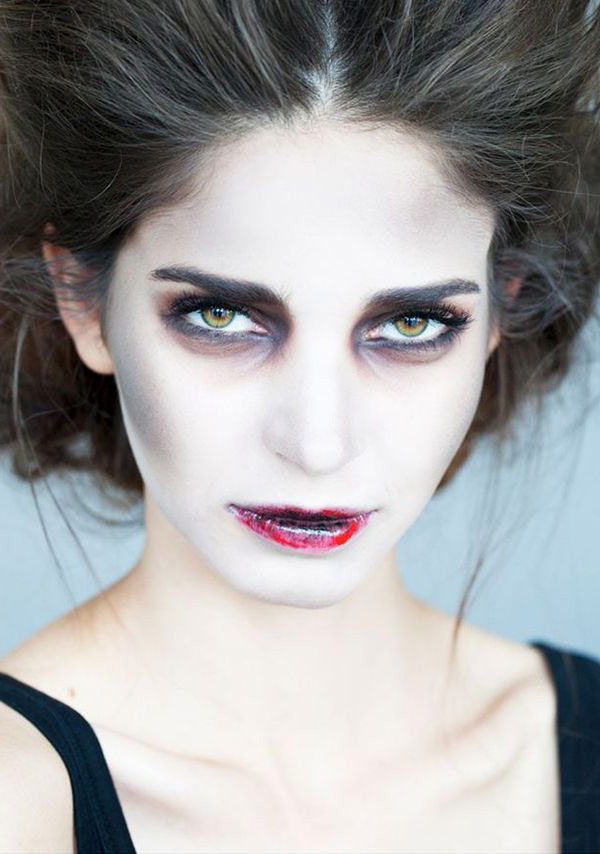 Делаем мейкап для Хэллоуина: фото