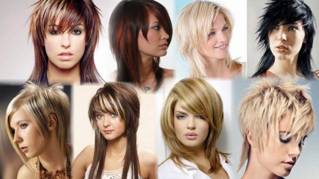 Креативные стрижки на средние волосы (42 фото), короткие и длинные для женщин: видео-инструкция по созданию прически своими руками, фото и цена