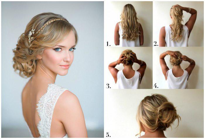 Прически на свадьбу для гостей: фото укладок на короткие, средние и длинные волосы