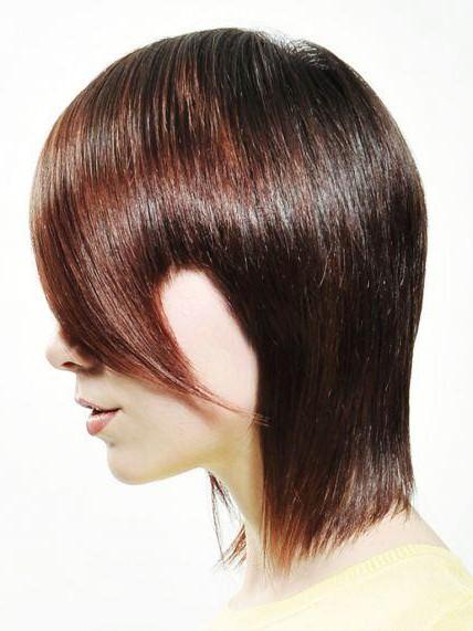 Прически на волосы средние