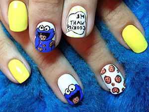 Рисунки на ногтях: фото
