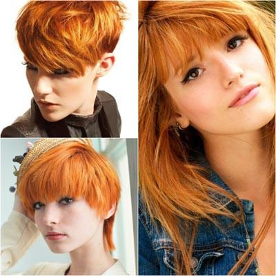 Медно-рыжий цвет волос: актуальные оттенки и способы окрашивания