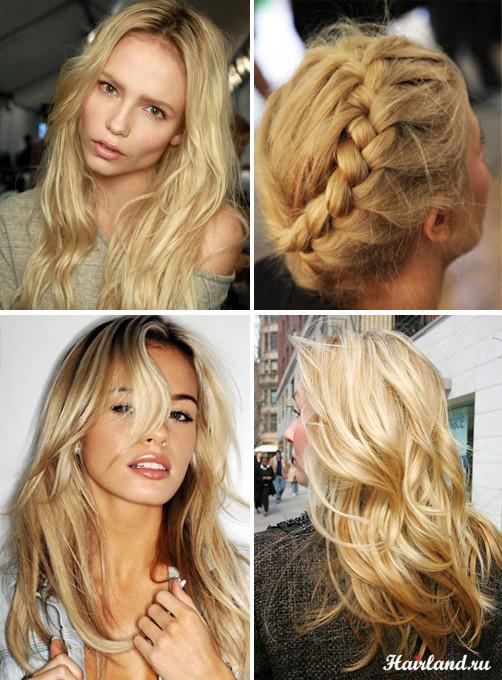 Пшеничный цвет волос: светлые и темные оттенки (фото)