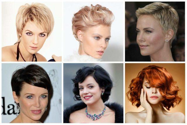 Укладка на короткие волосы: Стильные cтрижки (50 фото)