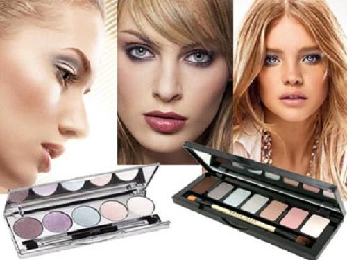Вечерний макияж для голубых глаз: пошаговые фото